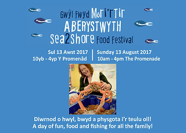 Aberystwyth Sea to Shore festival, Dyfi Biosphere, Wales