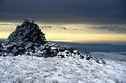 Moel y Llyn Cairn, Dyfi Biosphere, Wales