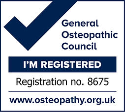 Victoria Diamond on the General Osteopathic Council Register 8675. Regulatory body providing oversight for osteopaths.