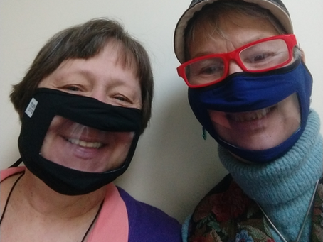 Smiles are so much Friendlier!  New SmileMask!