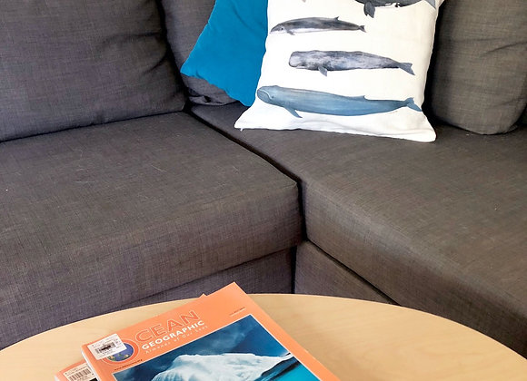 Whale Tribe Cushion Cover
