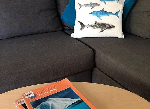 Shark Tribe Cushion Cover