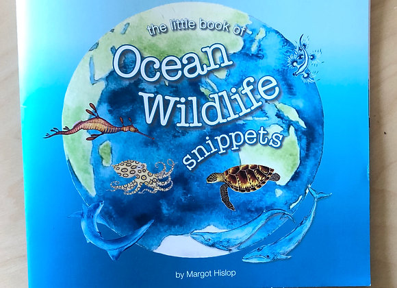 'Ocean Wildlife Snippets' book