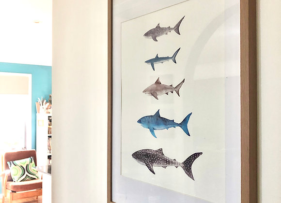 Shark Tribe A2 Print