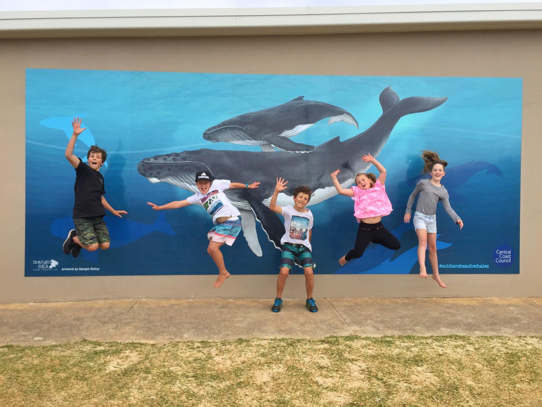 Soldiers Beach Whale Mural_Portrait