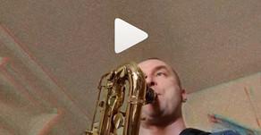 Saksofonitreeniä