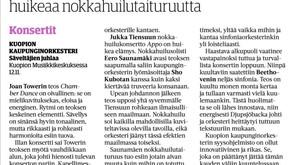 Loistoarvio Kuopion debyytistä