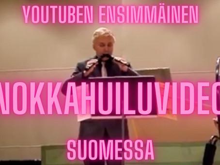 Ensimmäinen suomalainen nokkahuiluvideo Youtubessa