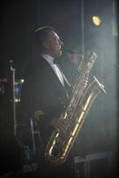 Kaartin Combon johtaja ja baritonisaksofonisti