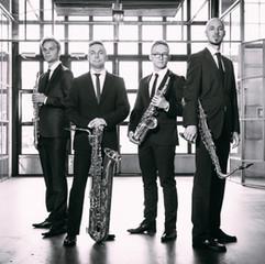 Saksofonikvartetti Aava. Kuva: Markus Kaarto
