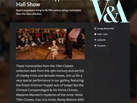 The Music Hall Marionettes at The V & A