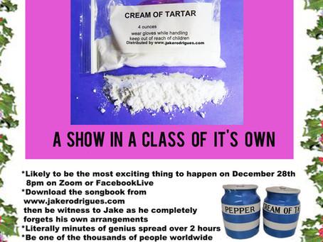 The Cream of Tartar Covid Christmas Cracker