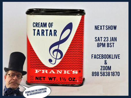 The New Cream of Tartar Songbook ! Best Ever !