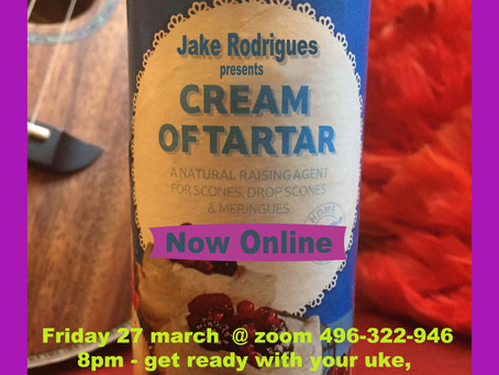 The Cream of Tartar Show - Online