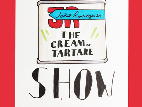 The Cream of Tartar Show  : May 8th - 8pm GMT