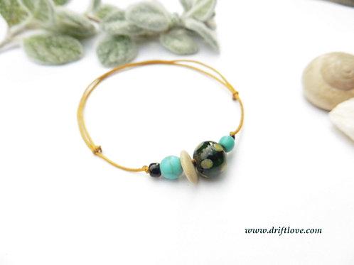 Yelow Dots Bracelet/ Anklet
