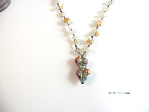 Colorful Goddess Driftlove Necklace