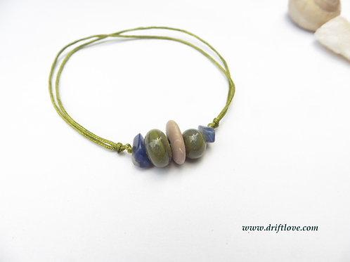 Sodalite Green Healing Bracelet/ Anklet