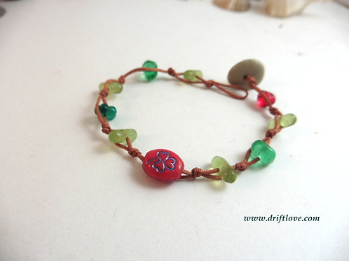 Shamrock Many Beads Bracelet