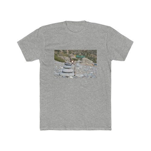 Find your balance -Men's Cotton Crew Tee