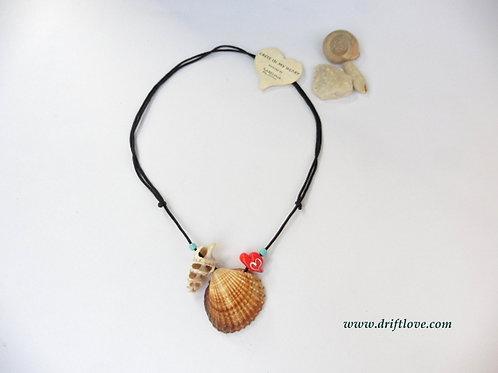 Love Paleochora Seashells Necklace