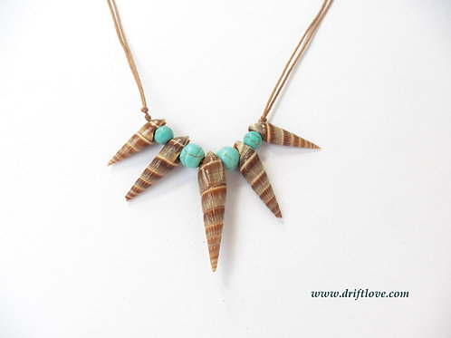 Healing Turquoise Sea Necklace