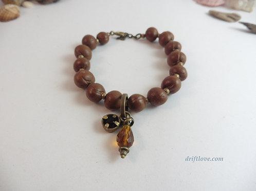 Seeds and Charm Bracelet