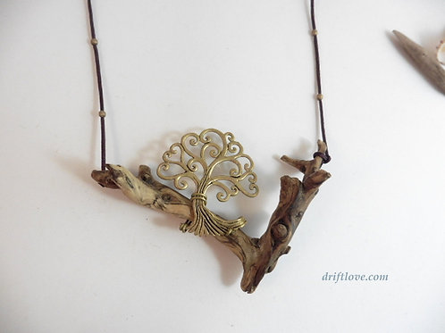 Driftlove Tree Necklace