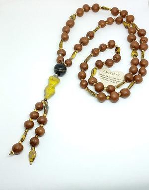 Sunny Tree Goddess Long Necklace