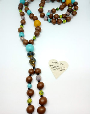 Mama Tree Goddess Long Necklace