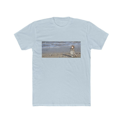 Learn to surf - Men's Cotton Crew Tee