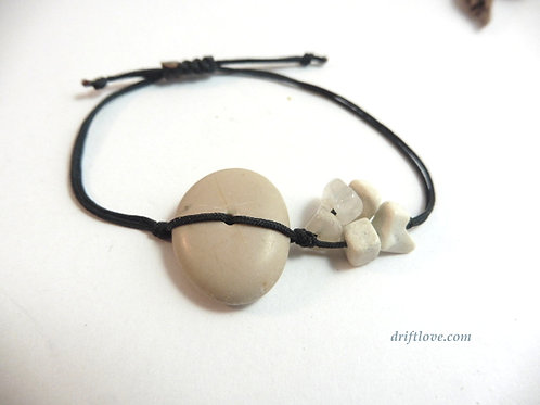White Stones Healing Bracelet