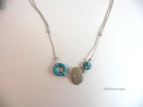 Blue Sea Beach Necklace