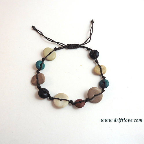 Stones And Porcelain Bracelet