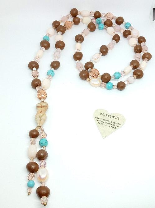 Summer Goddess Long Necklace