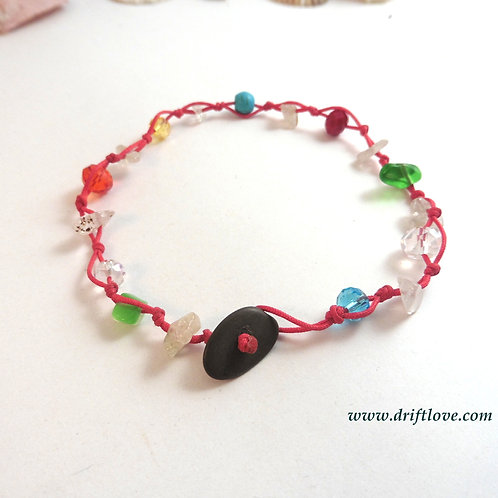 Bright Red Healing Anclet