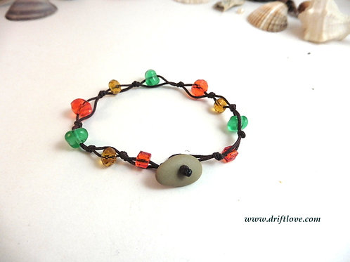 Brown Many Beads Bracelet
