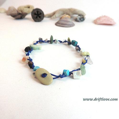 Bright Blue Energy Load Bracelet