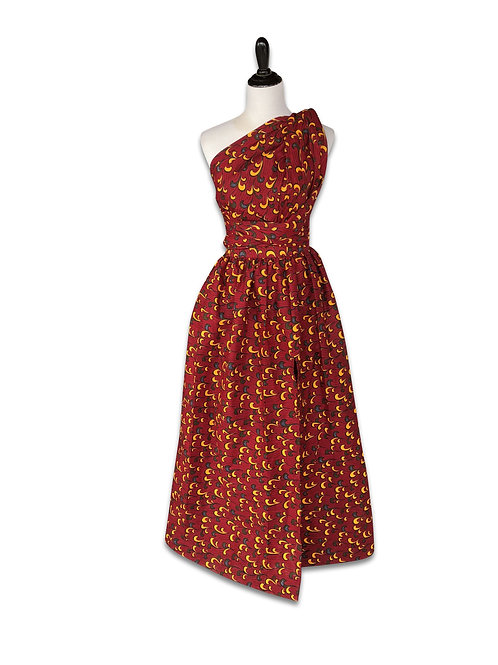 Ankara Infinity Dress