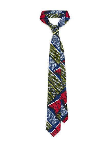 African Print Neckties