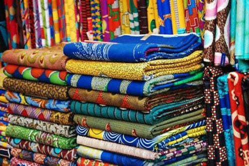 African Wax Print Fabric Bundles