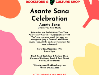 Asante Sana Celebration