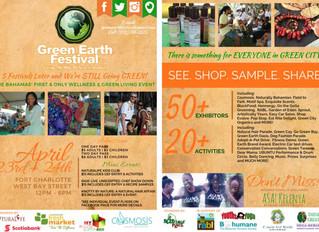 Green Earth Festival: April 23rd & 24th 2016
