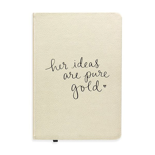 Soft-Cover Journal - Her Ideas Are Pure Gold