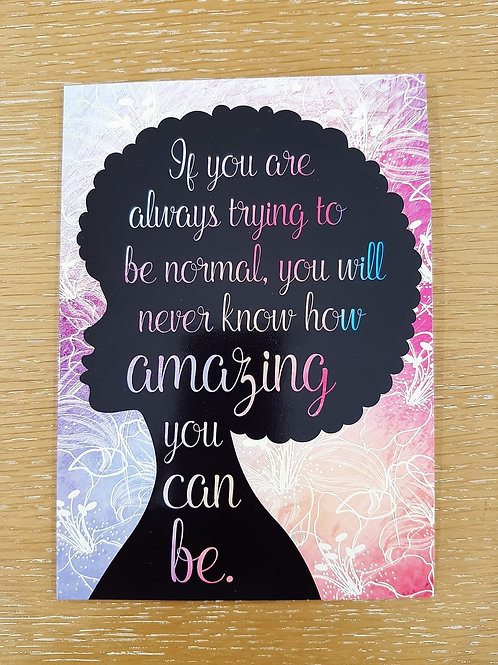 Encouragement Greeting Card