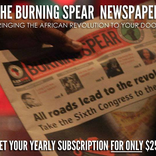 The Burning Spear Newspaper