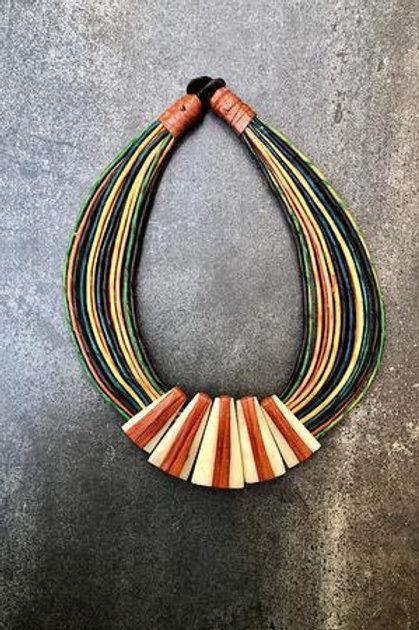 Abena Leather Necklace