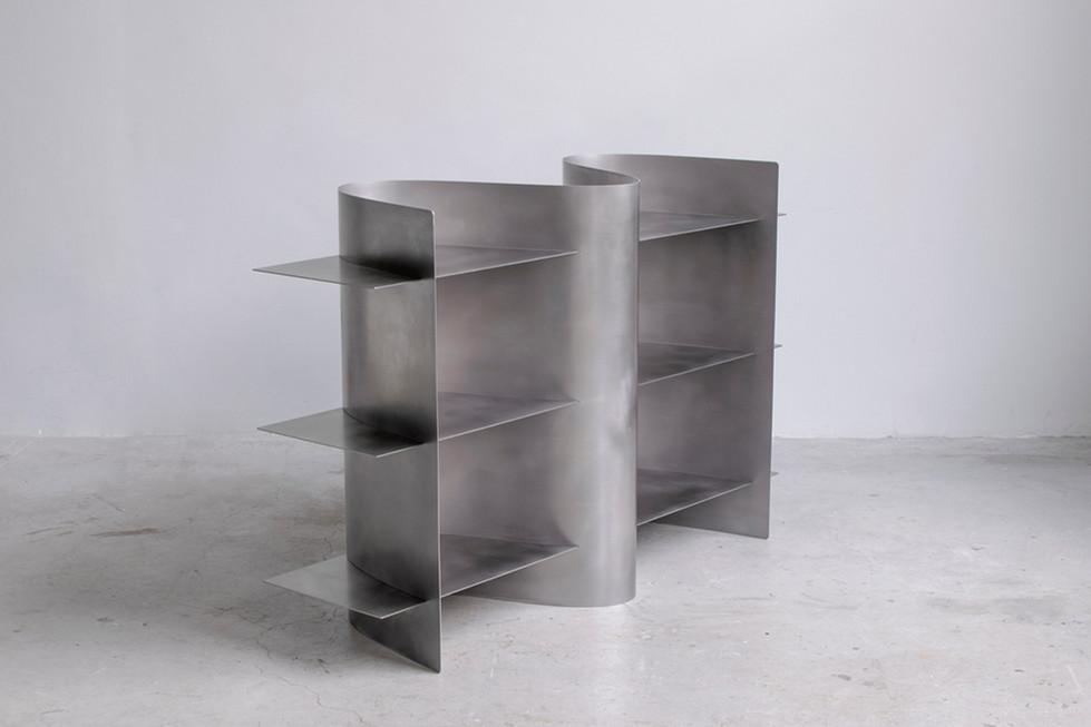 Tension shelf