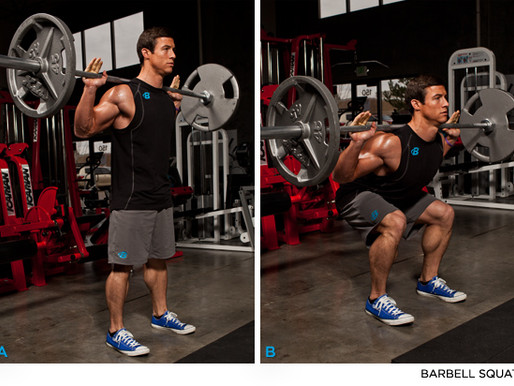 How To Perform The Back Squat