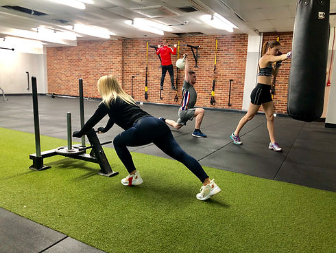 Combat Circuit Training - Corefit UK Tamworth